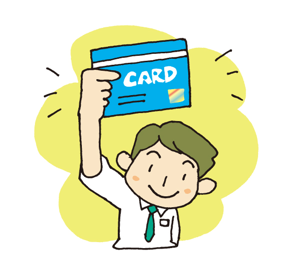 イラスト クレジットカード
